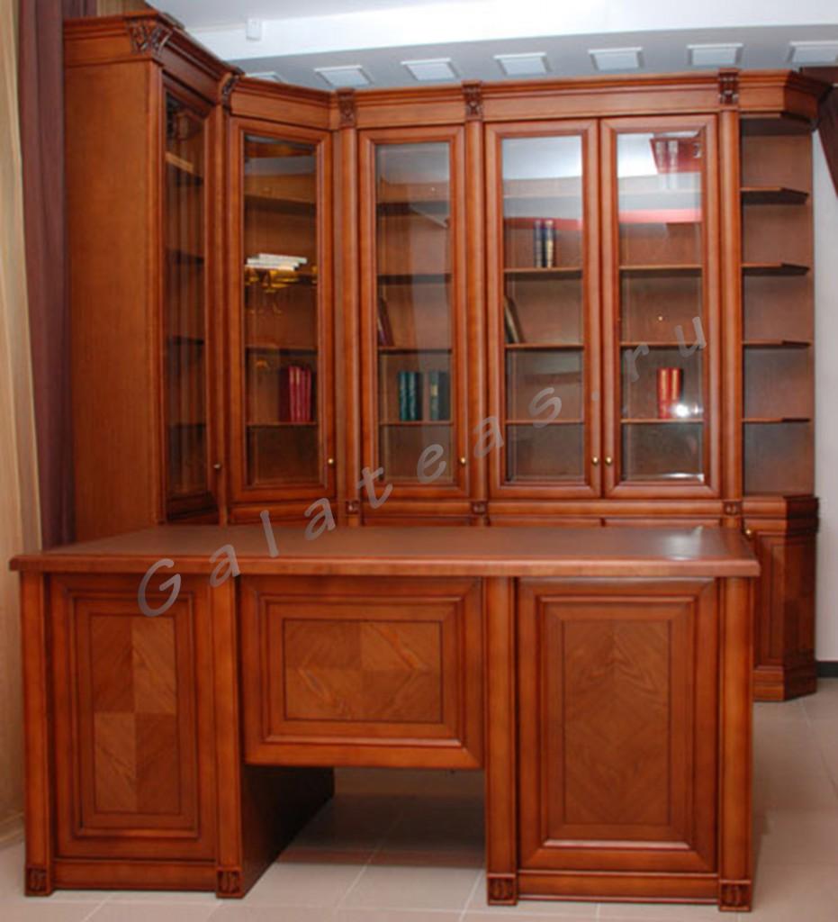 Библиотека-2 набор мебели для кабинета ресурс-мебель киров -.