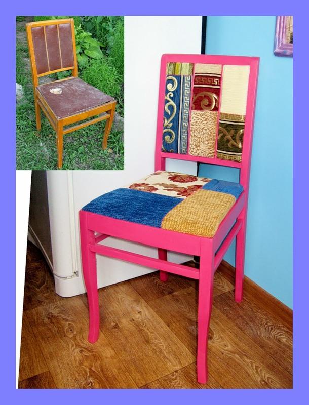 Как отремонтировать старые стулья своими руками