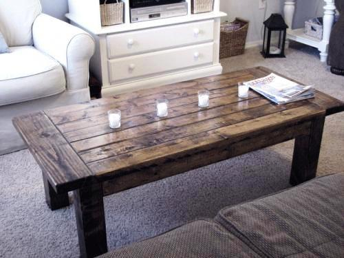 Обеденный стол из дерева своими руками