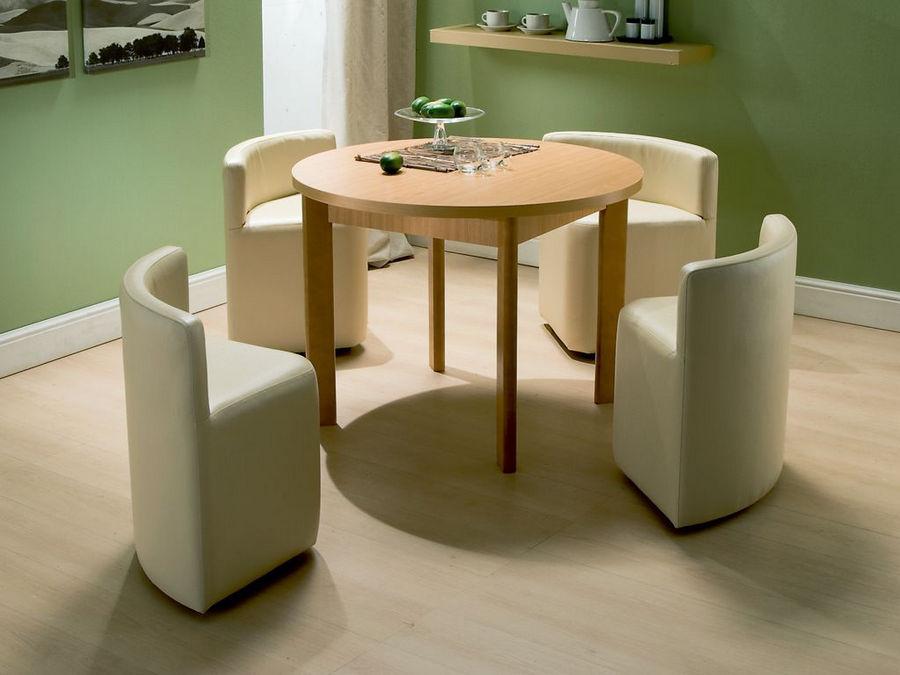 Столик на кухню круглый