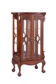 Витрина MK-CAB06/DISP цвет: Итал.орех. Philippe display cabinet. NBA Pecan M